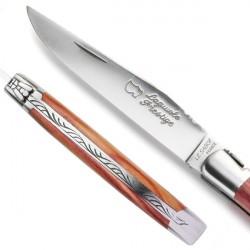 Couteau Collection bois de Rose - modèle Classique