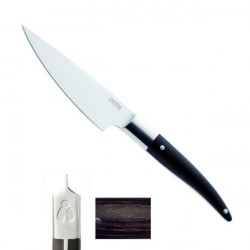 Coltello Lusso Eminceur Expression 13cm, manico miscelazione bachelite, legno, resina