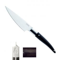 Couteau Eminceur Expression 24/13cm, manche mélange bakélite, bois, résine