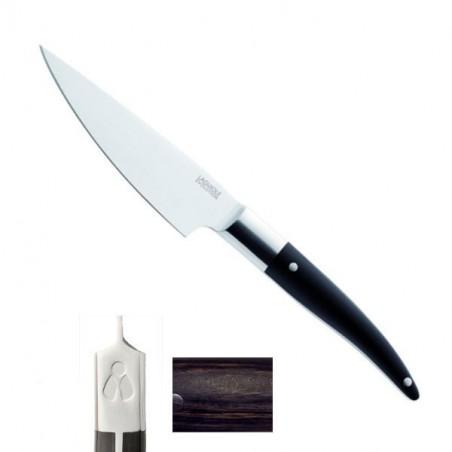 Couteau Eminceur Expression 24/13cm, manche mélange backélite, bois, résine