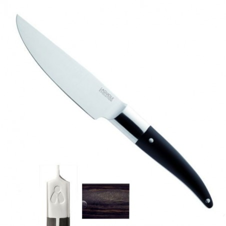 Coltello Lusso Cucina Expression 31/16cm, manico miscelazione bachelite, legno, resina