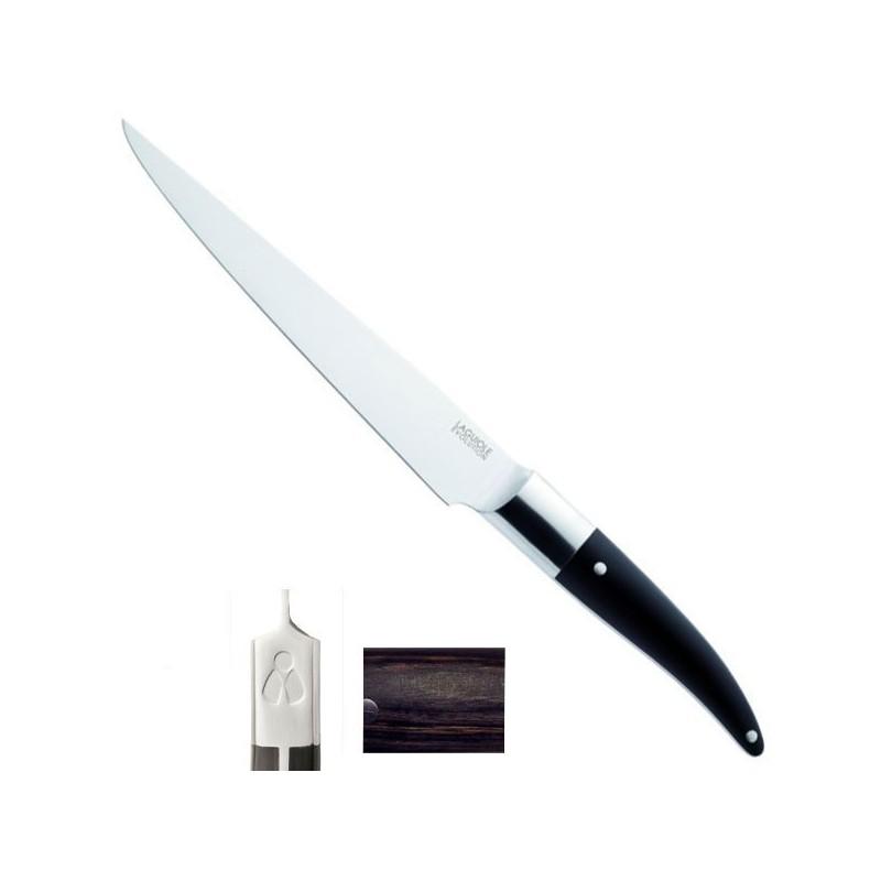 Couteau Trancher Expression 37/22cm, manche Mélange backélite, bois, résine