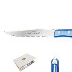 16 piece Luxury boxed set of azure handle