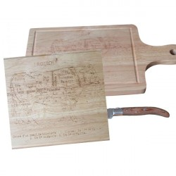 Cutting board the meat