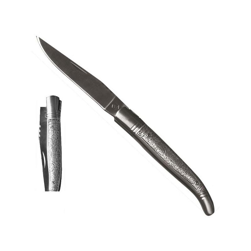 Cuchillo Metal, mango de acero inoxidable 21,5cm