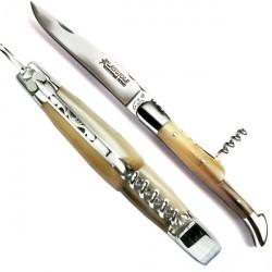 Couteau Collection bois de bouleau frisé