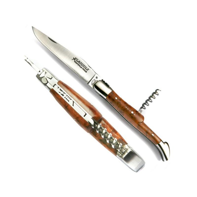 Couteau Collection bois loupe de genévrier