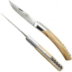 THIERS Messer, Olivenholz Griff, mit Korkenzieher