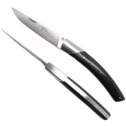 Cuchillo THIERS, manga de madera de ebano