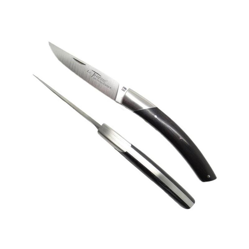 Couteau Le THIERS, manche en bois d'ébène