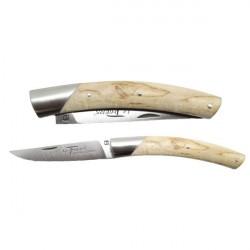 Coltello THIERS, manico in legno di betulla