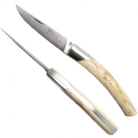 Cuchillo THIERS, manga de madera de abedul