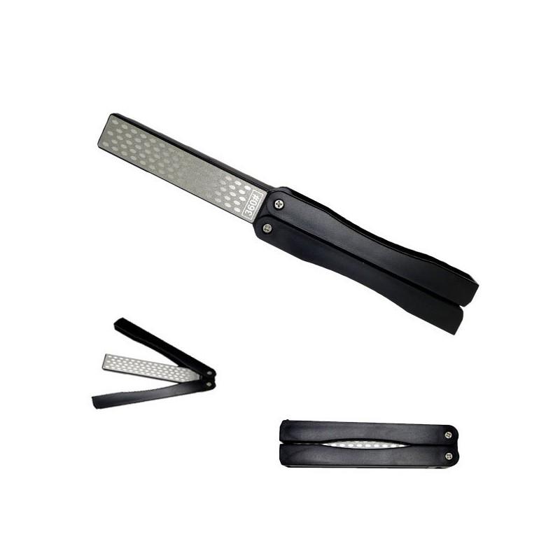Sharpener for knife blades, diamond