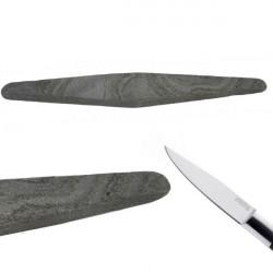 La piedra natural de los Pirineos, para afilar cuchillos