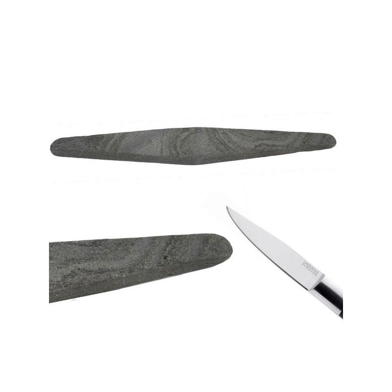 Pietra naturale dei Pirenei, per affilare i coltelli
