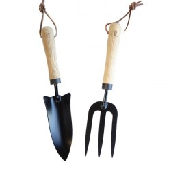Laguiole garden bulbs planter, and mini rake