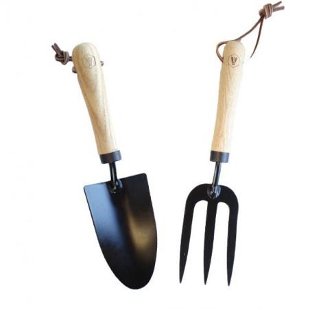 Laguiole Pflanzenstecher und Handrechen