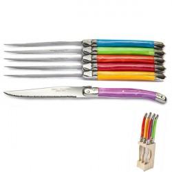 Estuche 6 cuchillos Ambiente Laguiole