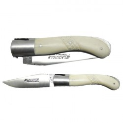 Coltello Collection caccia, manico osso, strutturata