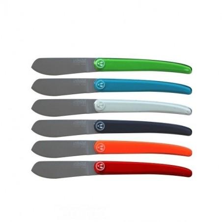 Couteau office 8cm - 4 couleurs au choix